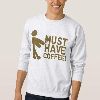 Manhã Java dos viciados do café Moletom