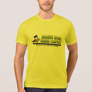 Manhã Madeira Madeira serrada Empresa T-shirt