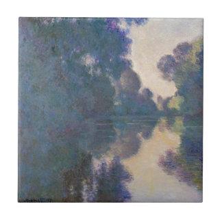Manhã no Seine perto de Giverny - Claude Monet.j