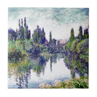 Manhã no Seine, perto de Vetheuil - Claude Monet