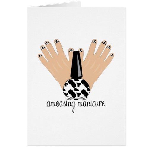 Manicure de Amoosing Cartões