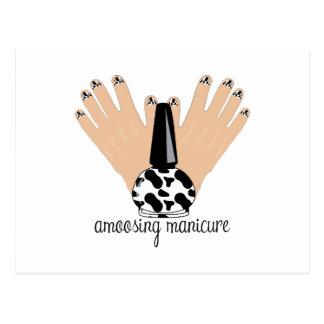 Manicure de Amoosing Cartão Postal