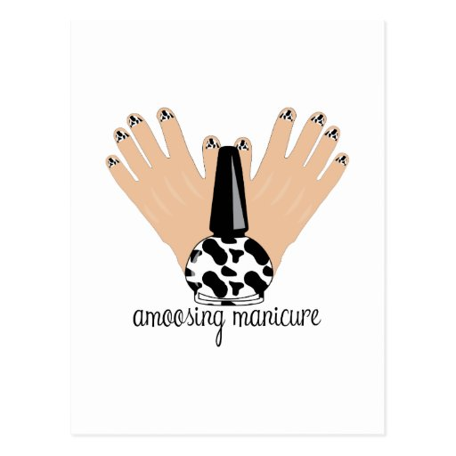 Manicure de Amoosing Cartoes Postais