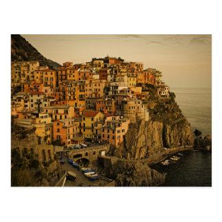 Manrola - Cinque Terre, cartão de Italia
