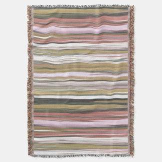 Manta #2 abstrato: Borrão das cores da queda do outono