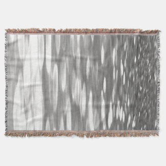 Manta #3 abstrato: Shimmer do cinza de prata