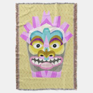 Manta Aloha monstro engraçado da cabana de Tiki