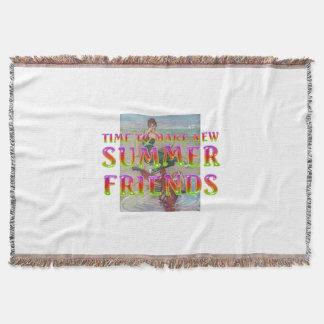 Manta Amigos novos do verão do T