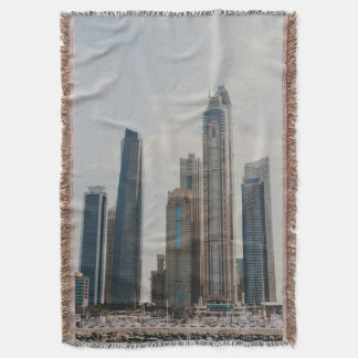 Manta Arquitetura do porto de Dubai