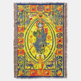Manta Arte popular bizantina Jesus