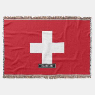 Manta Bandeira da suiça
