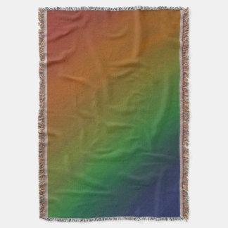 Manta Bandeira de bronze | do orgulho do abstrato do