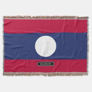 Manta Bandeira de Laos