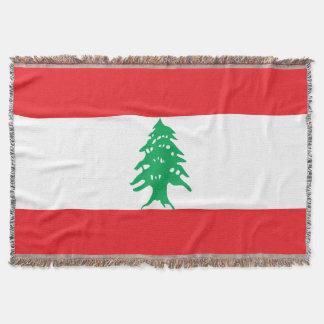 Manta Bandeira de Líbano