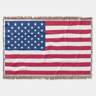 Manta Bandeira EUA americanos de América
