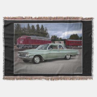 Manta Carro 1961 do clássico de Chevy Chevrolet Biscayne