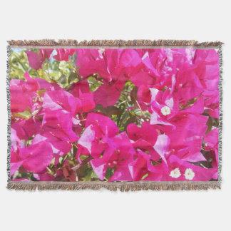Manta Cobertura cor-de-rosa híbrida do lance do