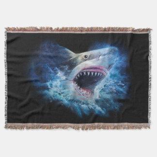 Manta Cobertura do lance do ataque do tubarão