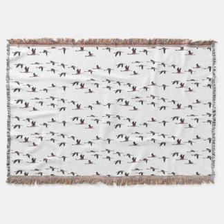 Manta Cobertura do lance dos flamingos do vôo (escolha a