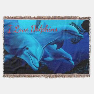 Manta Cobertura do lance dos golfinhos