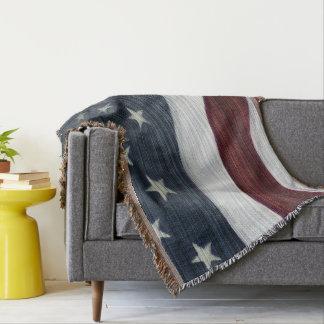 Manta Cobertura referente à cultura norte-americana