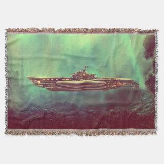 Manta Cobertura submarina do lance do pirata dourado