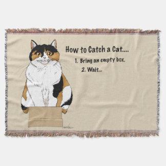 Manta Como travar um gato