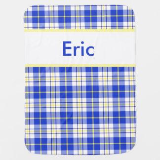 Manta De Bebe A cobertura personalizada de Eric