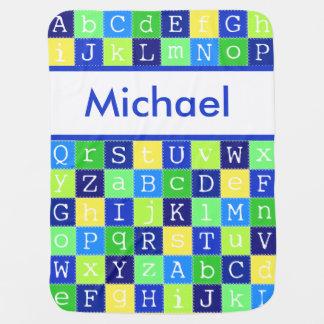 Manta De Bebe A cobertura personalizada de Michael