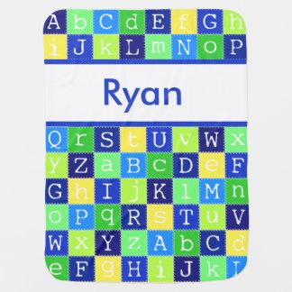 Manta De Bebe A cobertura personalizada de Ryan