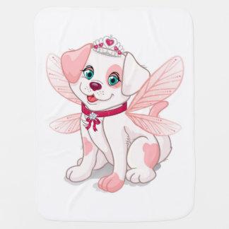 Manta De Bebe Assento cor-de-rosa do cão