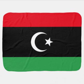 Manta De Bebe Bandeira de Líbia