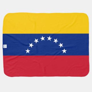 Manta De Bebe Bandeira de Venezuela