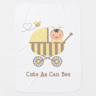 Manta De Bebe Bonito Bumble o bebê da abelha na chalaça do