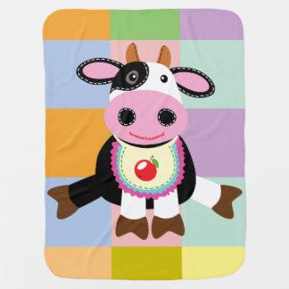 Manta De Bebe brinquedo da vaca