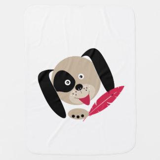 Manta De Bebe Cão favorito.