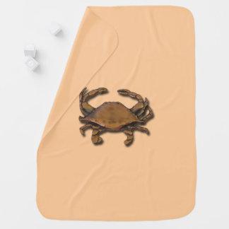 Manta De Bebe Caranguejo de cobre na cobertura de creme do bebê