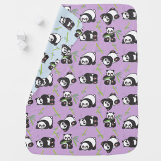 Manta De Bebe Cobertura brincalhão do bebê das pandas de Kawaii