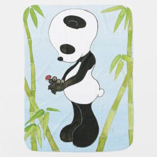 Manta De Bebe Cobertura do bebê da panda
