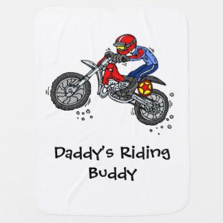 Manta De Bebe Cobertura do bebê do motocross do amigo da