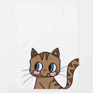 Manta De Bebe Cobertura - gato bonito
