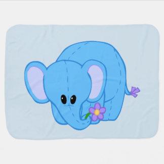 Manta De Bebe Cobertura peluches do amigo do elefante