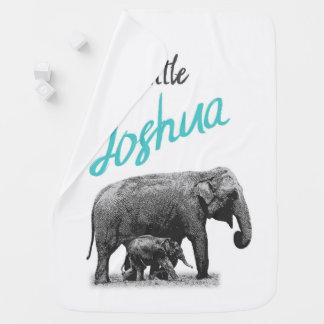 "Manta De Bebe Cobertura personalizada ""Joshua pequeno "" do bebé"