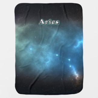 Manta De Bebe Constelação do Aries