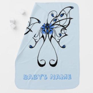 Manta De Bebe Dança 2 da borboleta