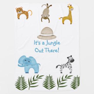 Manta De Bebe É uma selva para fora lá!