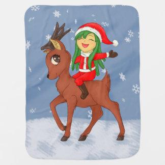 Manta De Bebe Elogio do Natal