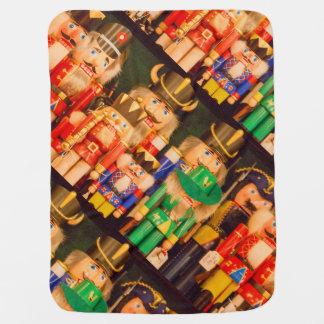 Manta De Bebe Exército de Nutcrackers do Natal