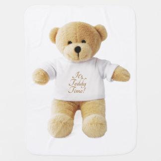 Manta De Bebe Imagem do urso de ursinho para a cobertura do bebê