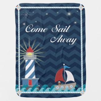 Manta De Bebe *Midnight* ausente da vela náutica do
